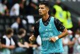 """Oficialu: C.Ronaldo po 12 metų pertraukos sugrįžta rungtyniauti į """"Man Utd"""""""