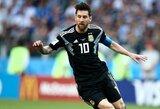 """L.Messi mama apie trokštamą pasaulio čempionų titulą: """"Kartais mes matome jį kenčiantį ir verkiantį"""""""