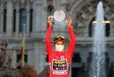 """P.Rogličius apgynė """"Vuelta a Espana"""" čempiono titulą"""