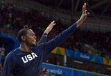 K.Durantas nori tapti rezultatyviausiu JAV rinktinės žaidėju olimpiadose