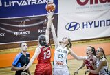 Aštuoniolikmetės krepšininkės Europos čempionatą pradėjo pergale