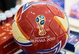Išgirskite: oficiali pasaulio čempionato Rusijoje daina