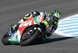 """C.Crutchlow po beveik dvejų metų pertraukos laimėjo """"MotoGP"""" kvalifikaciją"""