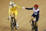 Olimpiniame dviračių treke Londone išdalinti paskutiniai 3 medalių komplektai
