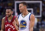 Čempionų atkirtis: S.Curry sarkastiškai atsiprašinėjo, D.Greenas kritikus prilygino piktoms moteriškėms