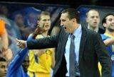 """Du """"Maccabi"""" pralaimėjimai iš eilės Izraelyje: D.Blatto pasiaiškinimas ir įtempti santykiai su žaidėjais"""
