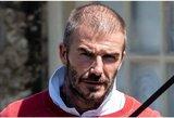 D.Beckhamo plaukų mįslė: per keletą dienų – kardinalūs pokyčiai