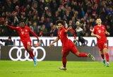 """Vokietijos čempionate vargę """"Bayern"""" iškovojo sunkią pergalę"""