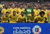 Kaka sugrįžo į Brazilijos rinktinę, P.Coutinho liko už borto