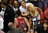 """""""Heat"""" fanė vidurinį pirštą J.Noah parodė tiesiai prieš veidą"""