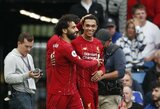 """Į """"Liverpool"""" rikiuotę sugrįžo M.Salah, tačiau iš jos iškrito T.Alexanderis-Arnoldas"""