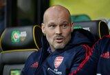 """Laikinasis treneris F.Ljungbergas atskleidė, kaip planuoja sutvarkyti """"Arsenal"""" gynybą"""