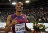 Palankus vėjas padėjo: sprinteriai demonstravo U.Bolto vertus rezultatus