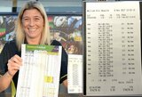 Neįtikėtina: vos vieną svarą pastačiusi moteris laimėjo daugiau nei pusę milijono, nes lažinosi už mėgiamus komandų pavadinimus