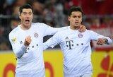 """2 įvarčius per 3 minutes pelnęs """"Bayern"""" išplėšė pergalę prieš """"Freiburg"""""""
