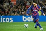 "Vėlyvą baudinį realizavęs L.Messi išplėšė ""Barcelona"" pergalę"