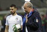 Pakeitė nuomonę: Italijos rinktinės treneris G.Ventura pasiruošęs trauktis
