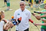 J.Kazlauskas: šiemet kardinaliai keičiame savo pasirengimo planą