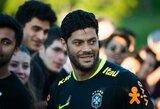 Brazilų invazija į Rytus tęsiasi: Hulkas už 55 mln. eurų kelsis į Kiniją