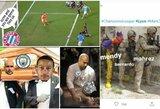 """Geriausi internautų pokštai po """"Man City"""" ir """"Lyon"""" rungtynių"""