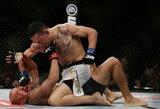 """""""UFC 218"""" turnyro problemos: F.Edgaras patyrė traumą, J.Aldo siūlosi jį pakeisti kovoje dėl diržo"""