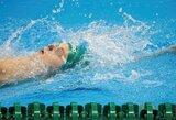 D.Rapšiui nepavyko prasibrauti į 100 m plaukimo nugara pusfinalį