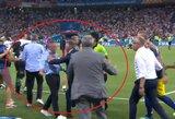 Pamatykite: po rungtynių Vokietijos rinktinės atstovai įsiutino švedus, kilo nemažas susistumdymas