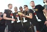 Vokietijos rinktinė apgadino pasaulio čempionato taurę