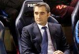"""E.Valverde: """"Chelsea"""" sunkus varžovas, bet man bus lengviau motyvuoti žaidėjus"""""""