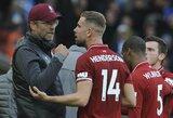 """Ekspertai pastebi """"Liverpool"""" spragas: """"J.Kloppui trūksta kūrybiško saugo"""""""