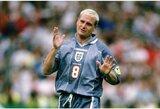 """P.Gascoigne'o atkirtis A.Fergusonui: """"Rio pabėgo nuo dopingo testo, Cantona spardė kažkokį asilą, o Rooney smaginosi su močiute"""""""