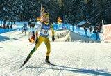 G.Leščinskaitė pasaulio biatlono taurės etape Kanadoje aplenkė D.Rasimovičiūtę, N.Kočergina buvo nubausta