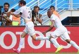 Italus iš pasaulio čempionato išmetęs Urugvajus keliauja į aštuntfinalį