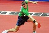 T.Mikutį stalo teniso turnyre Bulgarijoje sustabdė tituluotas japonas