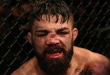 Pamatykite: UFC turnyre kovotojas išgyveno vieną iš baisiausių nosies lūžių organizacijos istorijoje