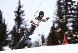 A.Drukarovas kalnų slidinėjimo varžybose Italijoje – šalia prizininkų