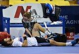 Traumą išsigydęs L.Grigelis po daugiau nei 2 mėnesių sugrįžta į teniso kortus