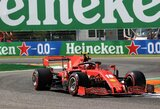 """Ch.Leclercas apie blogiausią """"Ferrari"""" pasirodymą per 36 metus: """"Tai ypač skaudu namų trasoje"""""""