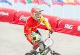 Pasaulio BMX dviračių čempionato atskiro starto lenktynėse lietuviai į finalus nepateko