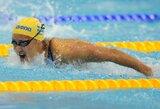 V.Gimbutytė Europos plaukimo čempionate liko 16-a