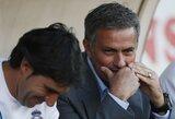 """J.Mourinho labai laimingas, kad nelaimėjo geriausio """"La Liga"""" trenerio apdovanojimo"""