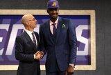 NBA praūžė ilgai laukta naujokų birža: savo pavardę išgirdęs A.Kulboka ir iškeistas L.Dončičius