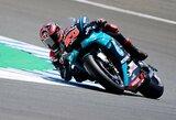 """Naująjį """"MotoGP"""" sezoną iš """"pole"""" pozicijos pradės F.Quartararo"""