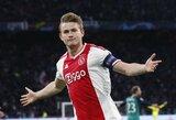 """Paaiškėjo kaina, kurios """"Ajax"""" reikalauja už M.De Ligtą"""