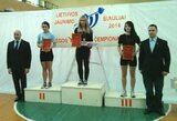 M.Brūverė pasaulio jaunimo jėgos trikovės čempionate iškovojo mažąjį bronzos medalį