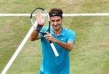 R.Federeris – per vieną pergalę nuo pirmosios pasaulio raketės statuso