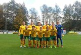 Kito Europos čempionato atrankos etapo nematyti: Lietuvos jaunimas nepasipriešino Kosovo rinktinei