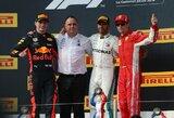 Prancūzijos GP: S.Vettelio avarija su V.Bottu, gauta bauda ir pasikeitęs čempionato lyderis