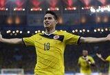 """J.Rodriguezo tėvas: """"Mano sūnus nori žaisti """"Real"""" klube"""""""