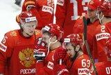 Pagirtinai kovoję čekai po baudinių serijos pralaimėjo bronzą iškovojusiems rusams